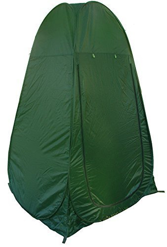 Portable Pop Up Tent Camping Beach Toilet Shower Changing Room Outdoor Bag Green by New Unbrand
