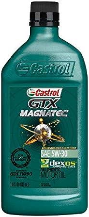 Castrol 6005 GTX MAGNATEC 5W-30 Full Synthetic Motor Oil, 1 Quart, 6 Pack