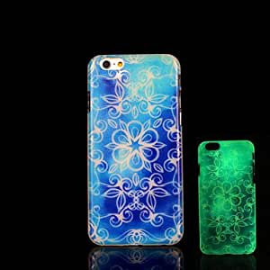 SHOUJIKE Aztec Mandala Pattern Glow in the Dark Case for iPhone 6 Cover