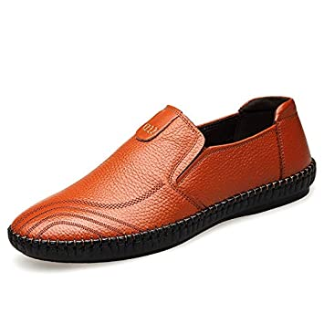 sports shoes 30827 09923 Weiin Herren Klassische Weiche Mokassin Echtes Leder Schuhe ...