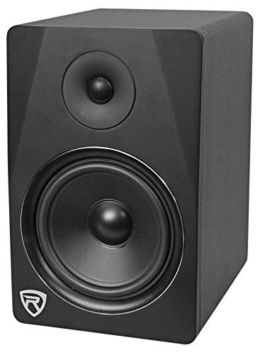 "Rockville DPM8B 8"" 2-Way 300W Black Active/Powered Studio Monitor Speaker"