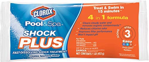 CLOROX Pool&Spa 32312CLX Shock Plus, 12-Pound