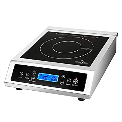 Image of Duxtop Professional Portable Induction Cooktop, Commercial Range Countertop Burner, 1800 Watts Induction Burner with Sensor Touch and LCD Screen, P961LS Home and Kitchen