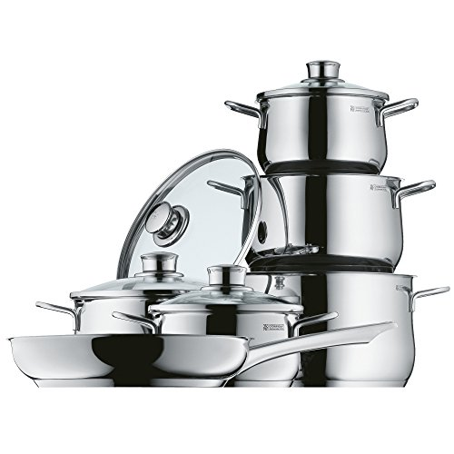 WMF Diadem Plus 0730026040 Saucepan Set, 6-Piece