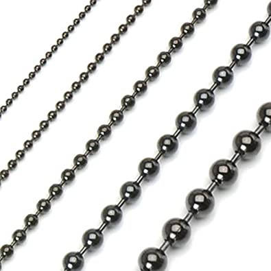 cuban franco spicyice mens steel products black chain stainless chains box link necklace
