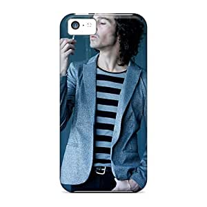 SherriFakhry Iphone 5c Durable Hard Phone Cover Allow Personal Design Trendy Foo Fighters Pattern [TQZ7958pCmr]