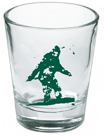 Bigfoot Yeti Sasquatch Shot Glass LIMITED EDITION