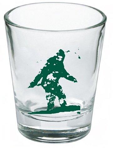 Bigfoot Yeti Sasquatch Shot Glass LIMITED EDITION
