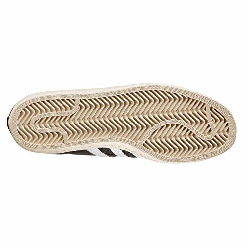 Adidas Superstar 80s W Zapatillas Negras para Mujer Cuero BY2958 Sneakers Black