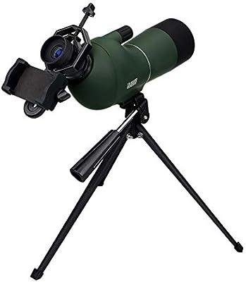 ZTYD Greenbird auténtica Alta definición telescopio terrestre con Zoom, Goma de Armadura, Completamente Multi-Coated Vidrio óptico de la Lente-Incluye reemplazo de por Vida Trípode y Estuche +: Amazon.es: Deportes y aire libre