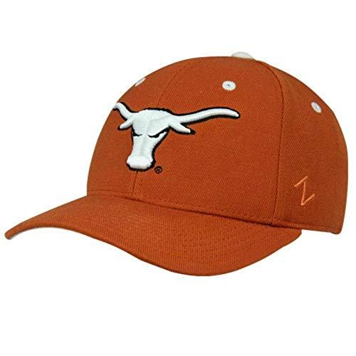Zephyr ZHATS Texas Longhorns Fitted College Cap (7 5/8) Orange