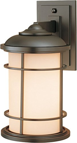 Feiss OL2201BB, Lighthouse, 1 Light Wall Lantern, Burnished Bronze Review