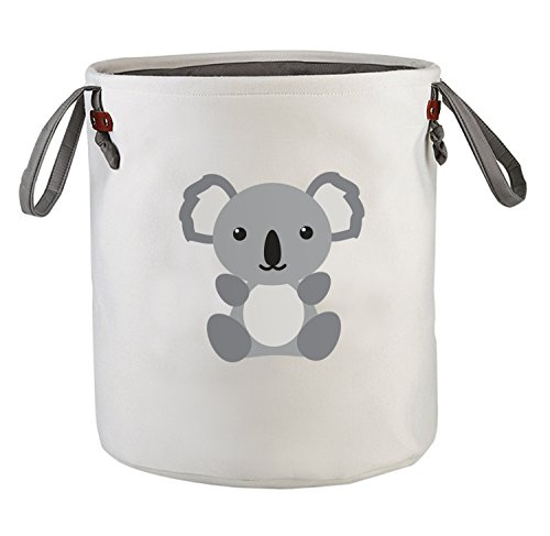 Koala Baby Basket - Cute Storage Baskets, Baby Hampers, Baby Laundry Basket, Laundry Hamper, Kids Storage Bin, Nursery Baskets, Animal Hamper, Storage Organizer bins, Nursery Hamper Bin, Toy Storage– Koala 2018 Design