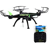 Flymemo SKRC Q16 WiFi FPV 0.5 Mega Camera 2.4G / APP Control 4 Channel 6-axis Gyro Quadcopter RTF,Black