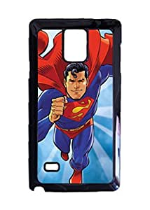 Engood Design Superman Cartoon Case Durable Unique Design Hard Back Case Cover For Samsung Galaxy Note 4 New