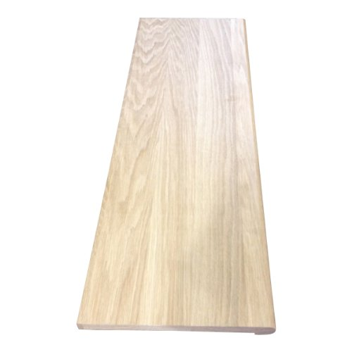 "QwikTread 3/4 x 11-1/2 x 48"" Unfinished White Oak Stair T..."