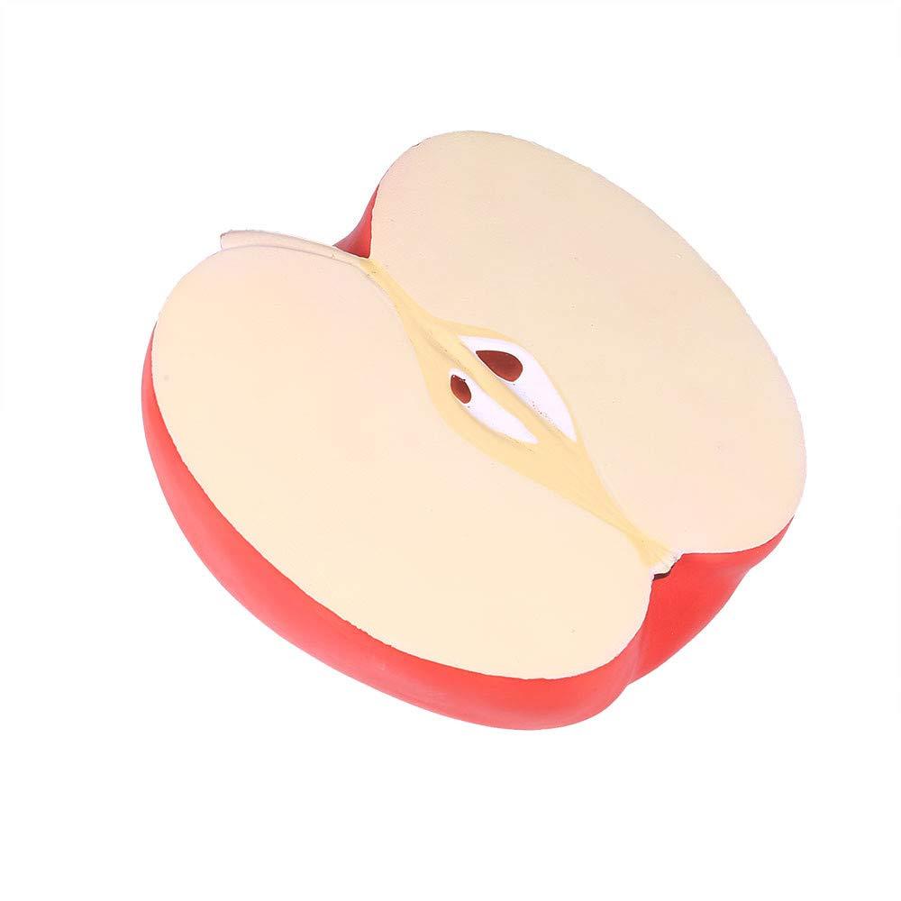 Bescita Apple Duftende Squishy Spielzeug Charme Langsam Steigenden Stressabbau Spielzeug Big ( 25x23x15cm) (Grü n)