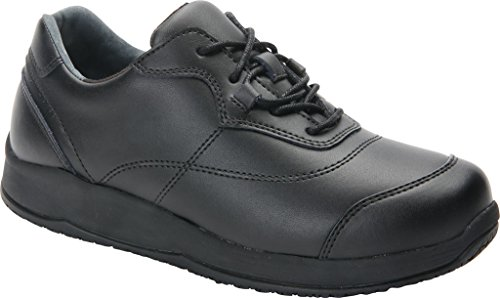 WW Drew Drew 13 Women's Oxfords Slip Leather Rubber Black Foam Resistant Shoe ffpaqR