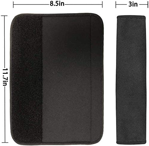 Laptop Computer Bag Shoulder Bag Backpack UZZUHI 2 Pack Soft Seat Belt Cover Aqua Dragonfly Galaxy Car Seat Belt Pad Protect Your Neck and Shoulder Soft Seat Belt Cover Suitable for Car Seat Belt