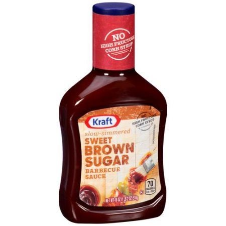 Kraft BBQ Sauce 18oz Sweet Brown Sugar