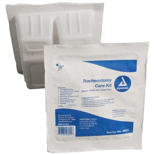 Dynarex Trach Kit with Gloves Sterile, 20 -