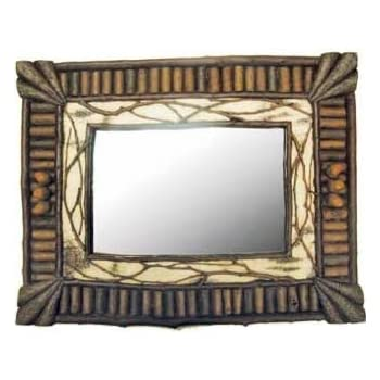 Amazon.com: Birch & Twig Wall-Mounted Mirror 19 Inches (Vertical or ...