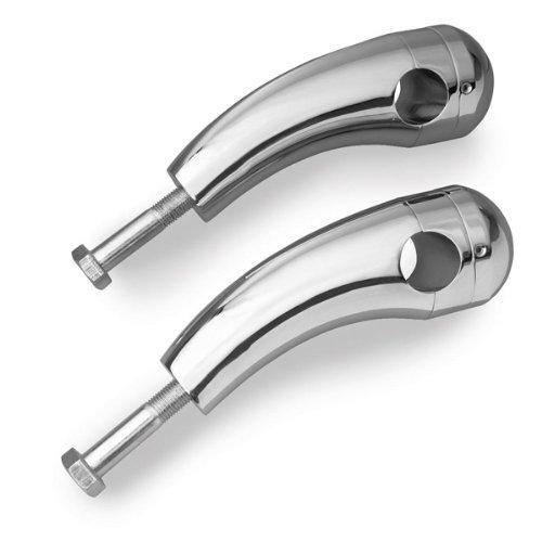 Show Chrome Accessories 63-133 Round Handlebar Riser (Handlebar Riser Shims)