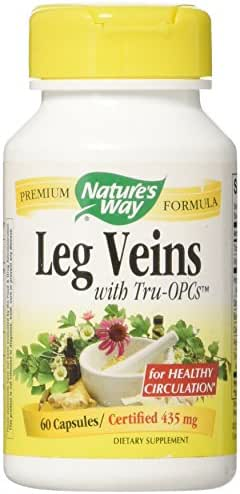 Nature's Way Leg Veins with Tru-OPCs, Capsules 60ea