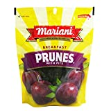 (Pack of 36) Mariani Prunes Plums Pitted, Bite Size, 6oz