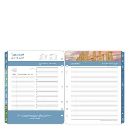 Monarch Daily - Monarch Leadership Daily Ring-Bound Planner - Jul 2019 - Jun 2020