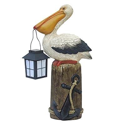Garden Treasures 21.25-in Pelican Garden Statue