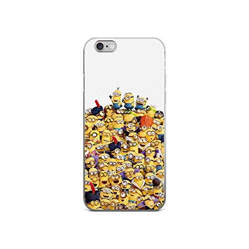 iPhone 6/6s Pure Clear Case Cases Cover Chaos Funny Guys Cartoon -