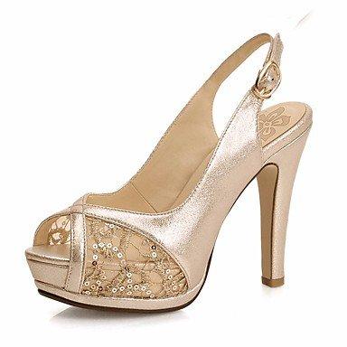 pwne Tacones mujer Primavera Club PU zapatos casual Almendra Almendra US8 / UE39 / UK6 / CN39 US8 / EU39 / UK6 / CN39