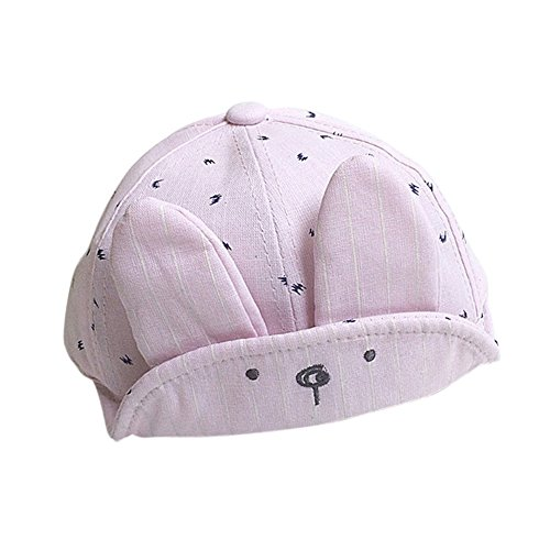Bunny Baseball (PanDaDa Baby Boys Girls Adjustable Snapback Visor Bunny Ear Style Baseball Cap)