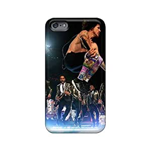 Iphone 6plus OfH15451miPY Unique Design Beautiful Red Hot Chili Peppers Skin Scratch Resistant Hard Phone Cover -KerryParsons