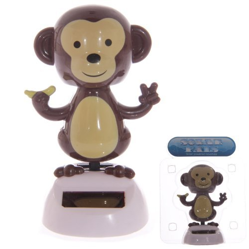 Dancing Monkey Solar Pal by Solar Powered Dancing Monkey Animatronic