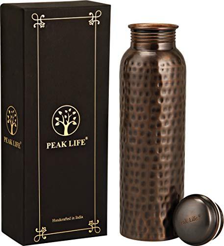 Peak Life Premium Quality Pure Copper Water Bottle