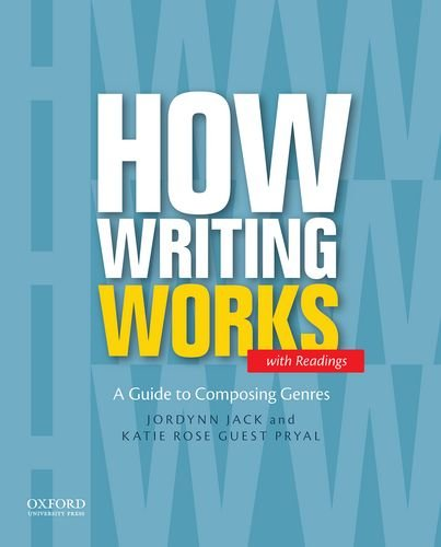How Writing Works,With Readings