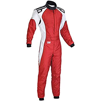 Amazon.com: OMP KS-3 Kart Suit KK01723 (Size: 60, Grey/Black ...