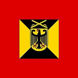 magFlags XL Flag Amtschef Heeresamt 1995-2004   2.16m²   23sqft   150x150cm   60x60inch - 100% Made in Germany - long lasting outdoor flag