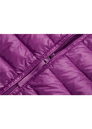 Jacket Coat Womens Pink Packable Vest Down Topgraph in Lightweight Puffer Purple 6aqYx1p