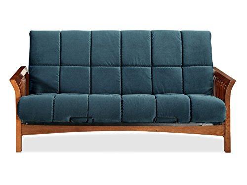 Sofas 2 Go SI-EX-BOS-VO-4I Boston Vintage Oak Futon Frame W/ 8