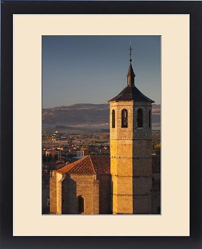 Framed Print of Spain, Castilla y Leon Region, Avila Province, Avila, morning light on the by Fine Art Storehouse
