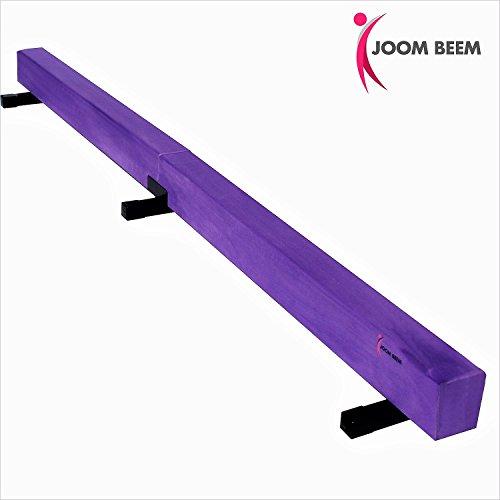 Joom Beem Purple 8FT SUEDE BALANCE BEAM LOW - Balance Suede Beam