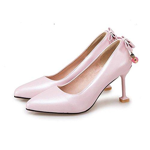 Color EU37 De 5cm De Graduación Sra Tamaño Tacones Zapatos 5 de Zapatos XUERUI Fiesta CN37 UK4 Stilettos 2 Trabajando tacón 3 8 Princesa Tacón 5 pv4xHaw