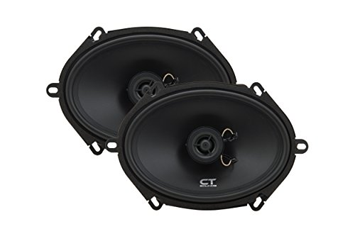 (CT Sounds Bio 5x7 Inch 2 Way Silk Dome Coaxial Car Speakers (Pair))