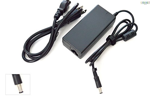 Ac Adapter Charger replacement for Toshiba ADP-60RH A, API-7629, PA2301U-1ACA PA2440U PA2444 PA2444U PA2450U PA2484U PA3048E-1ACAB PA3048U-1ACA PA3049U-1ACA PA3080U-1ACA PA3083U-1ACA PA3153U-1ACA Laptop Notebook Battery Power Supply Cord Plug (1 Free Usmart Euro Plug Travel Attachment with your Order)