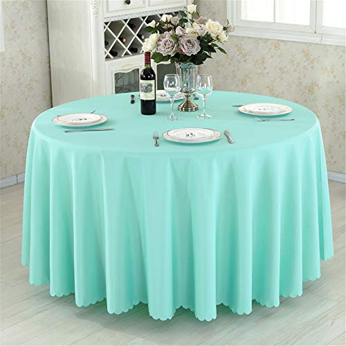 wrgfhb Tablecloth Rectangular Round Camping Table Hotel Party Wedding Tablecloth Table and Coffee Table Cover D -