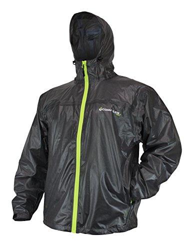 COMPASS 360 Ultrapak Ultra-Lite Rain Jacket, Large, Black (Ultra Light Rain Jacket)
