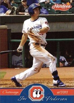 2013-hardees-grandstand-chattanooga-lookouts-29-joc-pederson-minor-league-baseball-card-near-mint-to